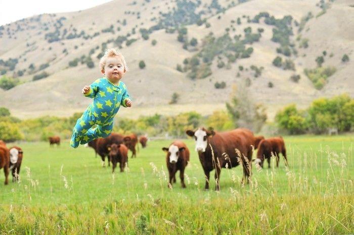 Inspiradoras fotografías de un niño, hechas por su creativo padre.