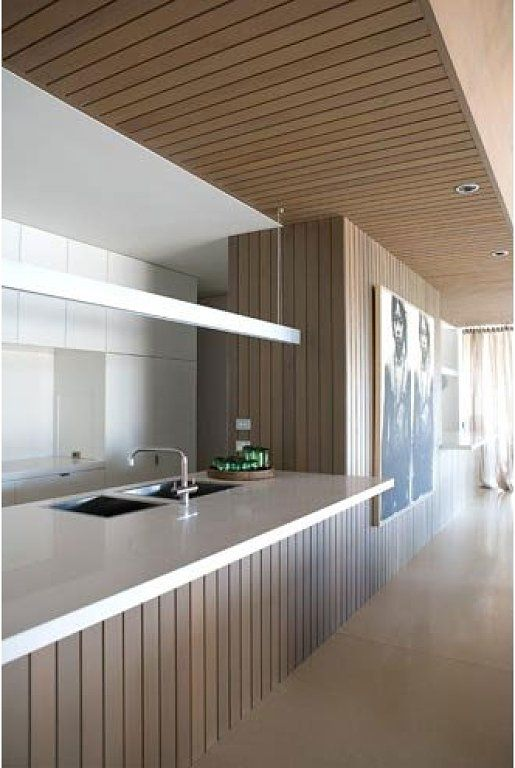 17 best images about kitchen design on pinterest - Forrar paredes de madera ...