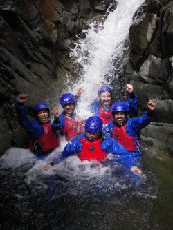 Adventure 21 gorge scrambling ambleside windermere bowness langdale coniston