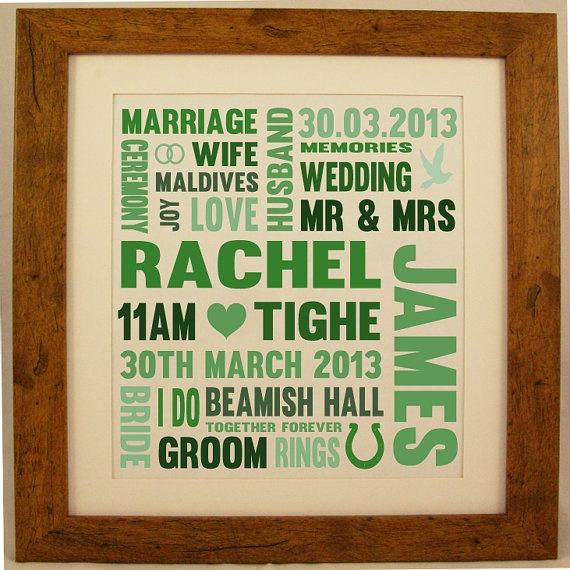 Wedding Gift Word Art : ... , Craft, Art Gift, Lindsay S Wedding, Wedding Dreams, Wedding Art