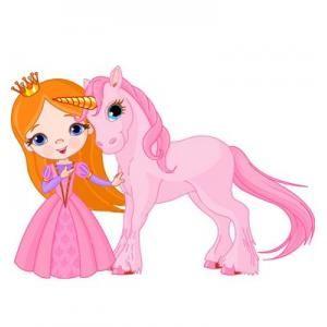 Królewna z jednorożcem to dekoracja na ścianę którą małe dziewczynki lubią najbardziej.