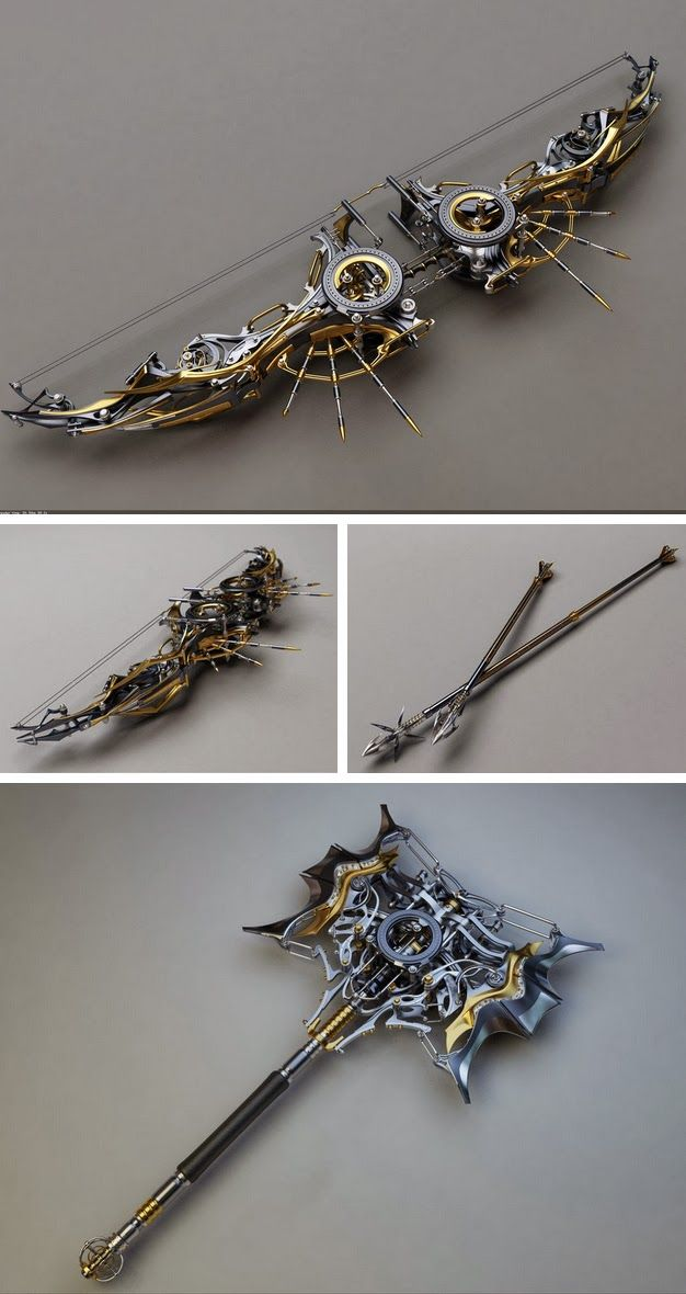 Concept Design by Samouel #Concept #Weapons #Steampunk
