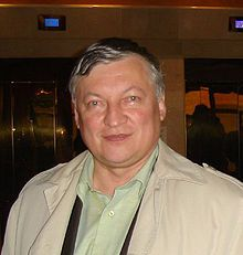 2006 Photo of Chess Grandmaster Anatoly Karpov B.1951