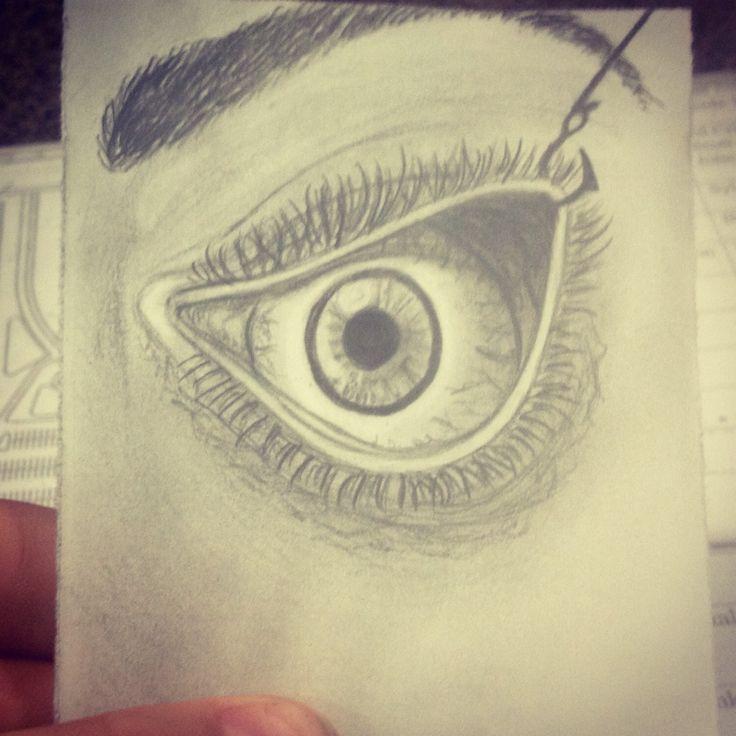 Sketch, Hooked Eyelid