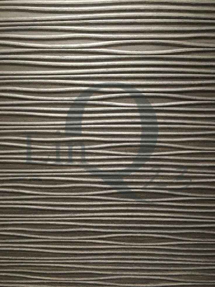 Fineer-textuur van vrijstaande kast op maat