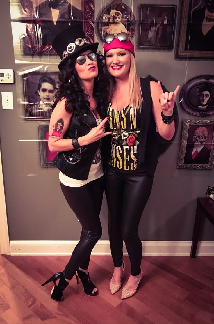 Slash and Axl, Guns n Roses Costume