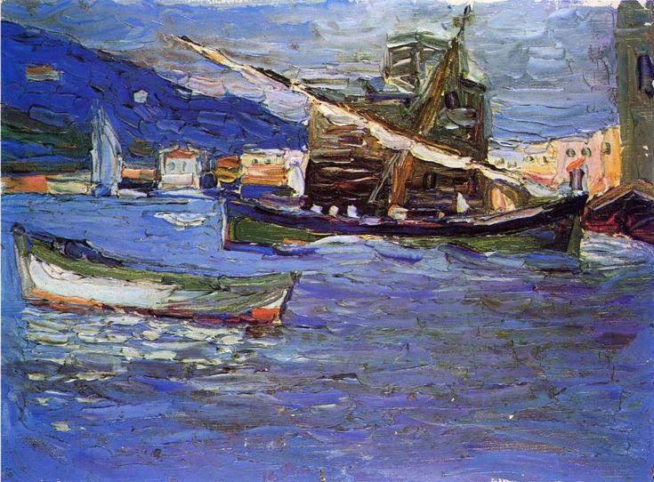 Rapallo Grauer day, 1905 Wassily Kandinsky - Post-Impressionism
