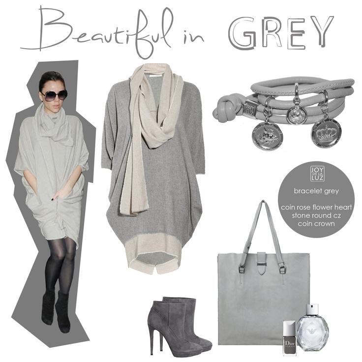 Joy de la Luz | Beautiful in grey