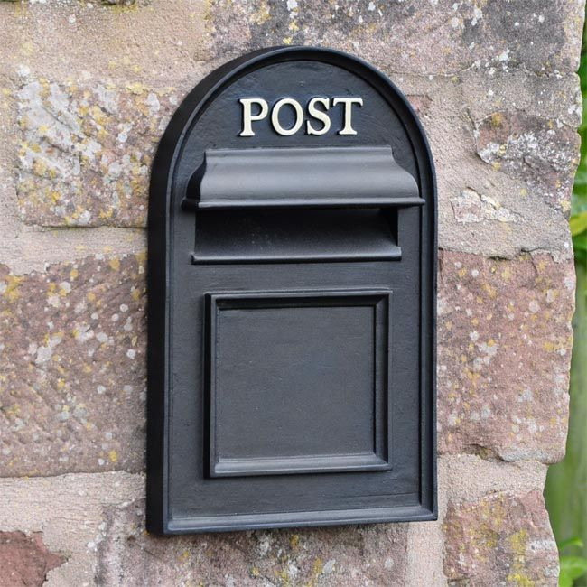 Oxford Through The Wall Post Box In 2020 Post Box Post Box Wall Mounted Post Box Outdoor