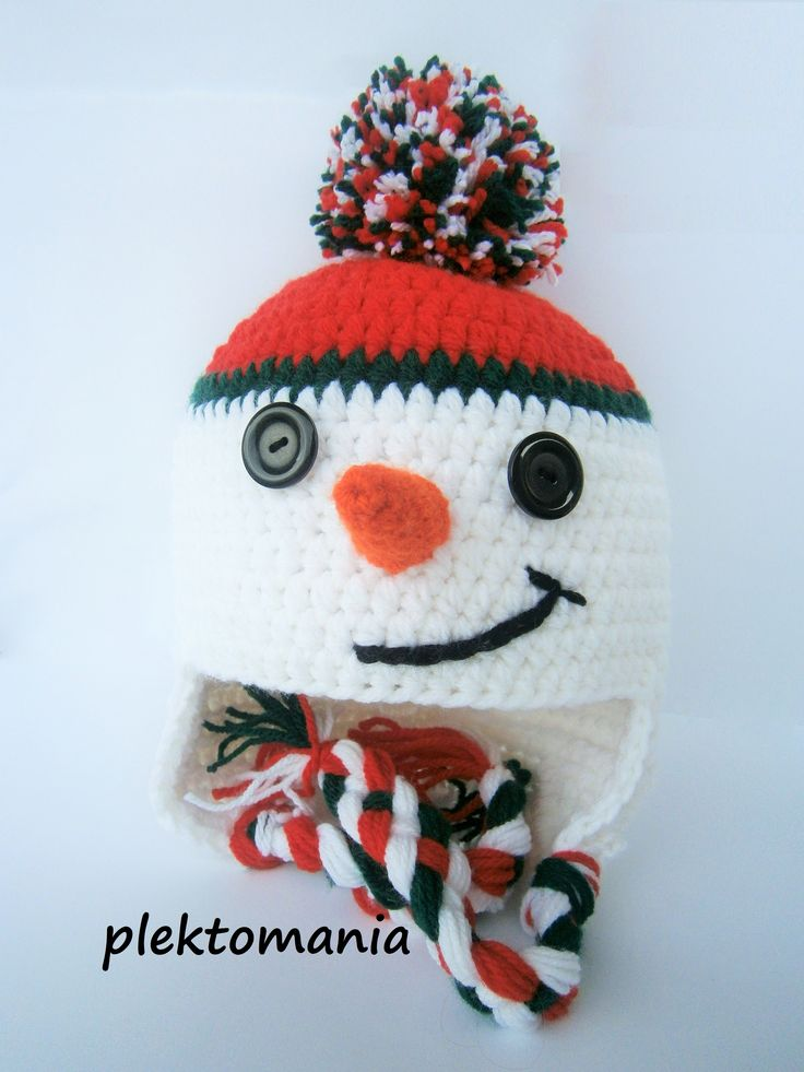 crochet snowman https://www.facebook.com/plektomania25