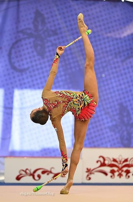 Dina AVERINA (Russia) ~ Clubs @ Russian National Championship 2017 @ Penza ☘☘ Photographer Oleg Naumov.