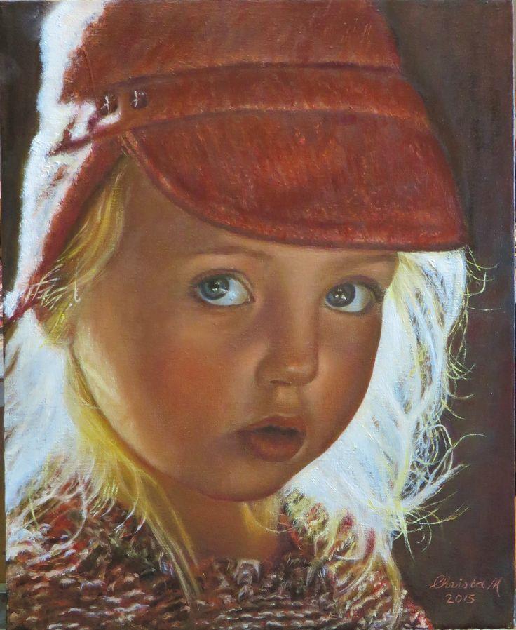 Christa Hoek. Portret Indy. Het tegenlicht in de haren maakt het een bijzonder portret. In opdracht maak ik portretten