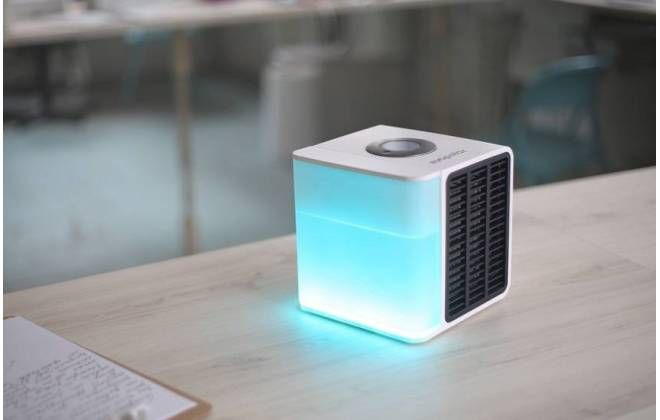 Notícia: Ar-condicionado portátil cabe na mochila e funciona com água