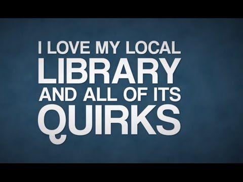 Love my library beat poet video