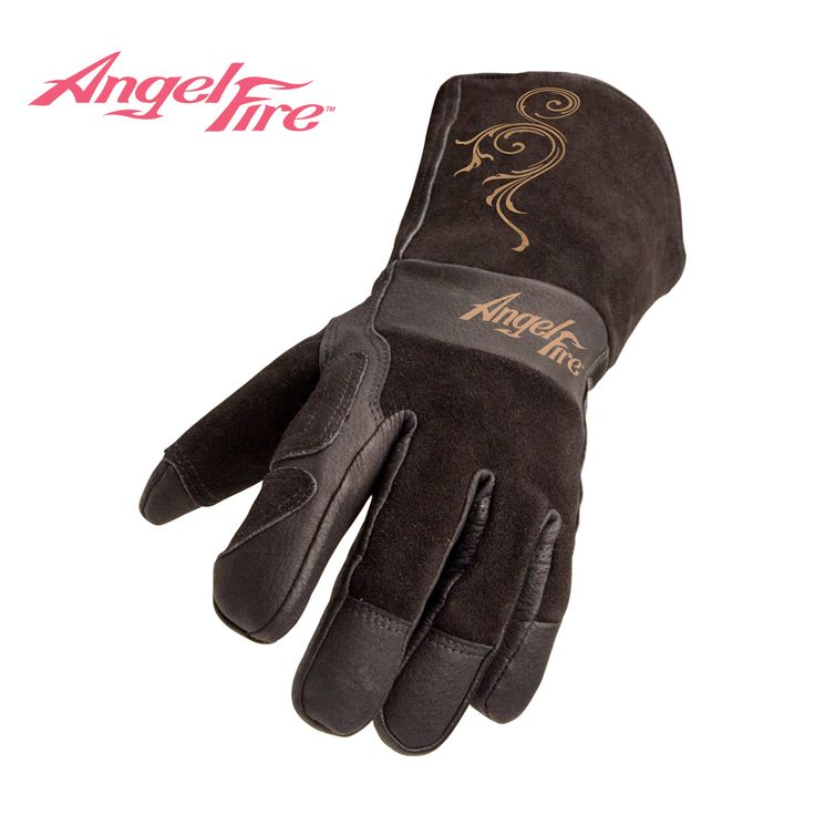 Gloves - Welding Gloves | Black Stallion® | BSX® | AngelFire | Revco Industries Inc. | #Welding | #WeldingGloves - LS50  This is a really great pair of welding gloves for women. I highly recommend them!