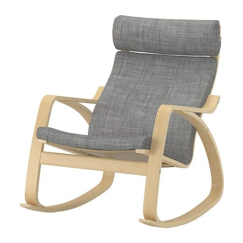 POÄNG Rocking chair IKEA The frame is made of layer-glued bent birch which is a very strong and durable material. $169