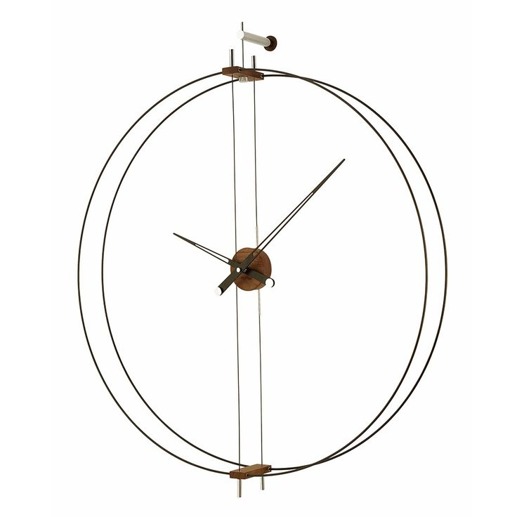 Novelty Clock model gnomon clocks online shop barcelona nomon Wood clocks - Muebles Julio LLuesma SL