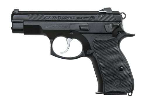 CZ 75 D PCR Compact Save those thumbs & bucks w/ free shipping on this Smith and wesson M&p Shield magloader I purchased mine http://www.amazon.com/shops/raeind   No more leaving the last round out because it is too hard to get in. And you will load them faster and easier, to maximize your shooting enjoyment.