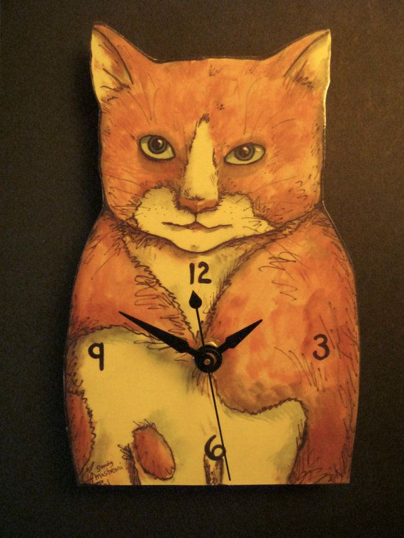 21 best Art clocks , illustration , functional art images ...