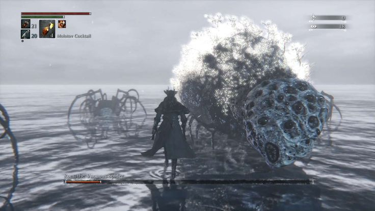 Bloodborne Boss Guide: How to Beat Rom, the Vacuous Spider Bloodborne #Bloodborne