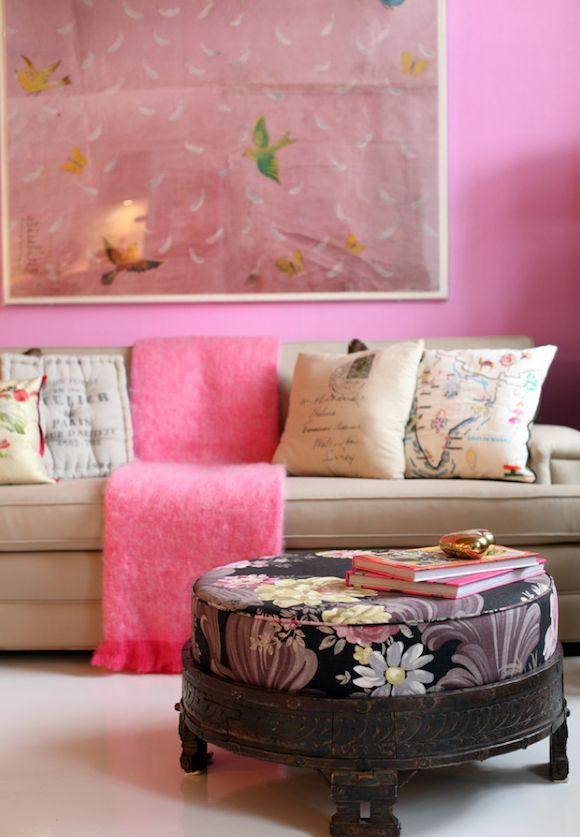 120 best Pink Curated Fabric Collection images on Pinterest | Living ...