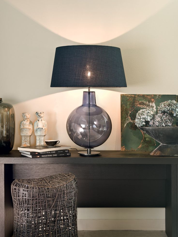 Toc Table Lamp made in Italy by Penta. Available exclusively at Sarsfield Brooke Ltd