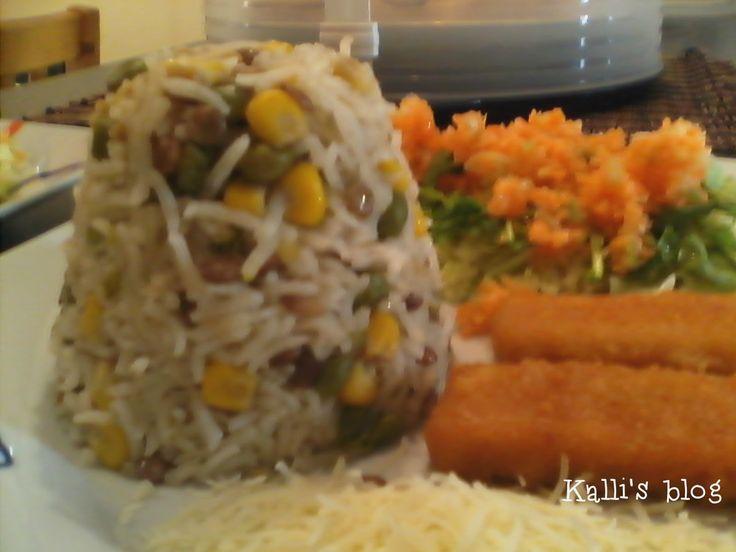 Kalli's blog: Υγιεινό ρύζι με λαχανικά!