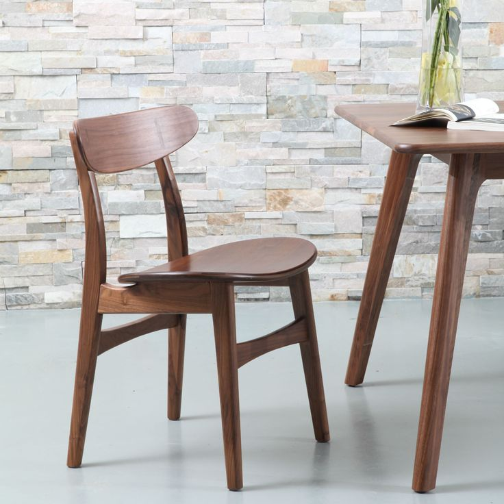 Astrid Solid Walnut Dining Chair - ICON BY DESIGN #iconbydesign #iconbydesignaustralia #redeemadeal #redadeal