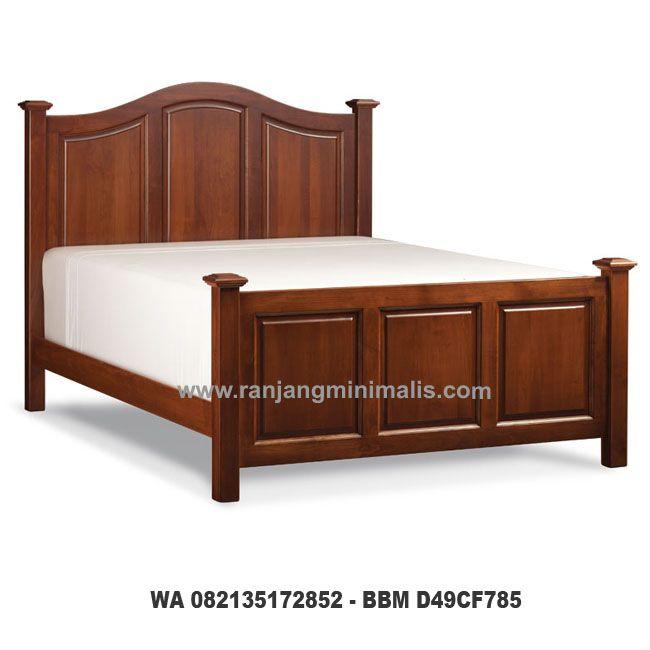 Tempat Tidur Jati KQ21