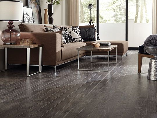 Tarkett Laminate In Trends Oak Dusk #livingroom #neutrals