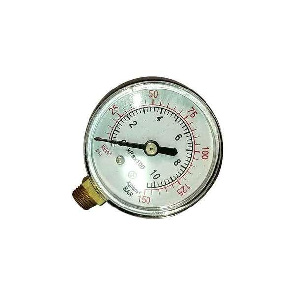 Pressure Gauge Air 2 Dial Side Mount 10mm Air Pressure Gauge Pressure Gauge Gauges