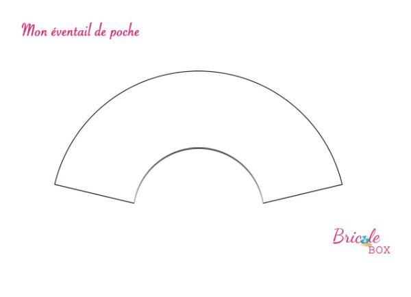 """Créa # 1 Bricole Box """"C'est l'été"""" : Mon éventail de poche + Tuto"""