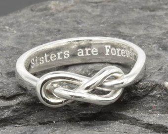 Infinity Ring Trauzeugin Geschenk bester Freund