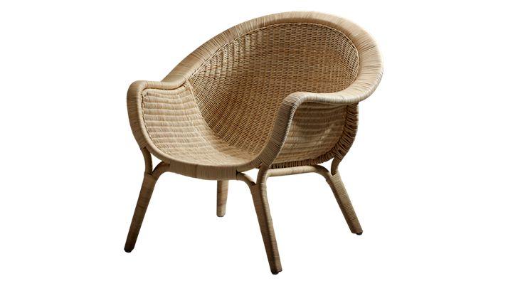 Madame rattan chair by Nanna Ditzel