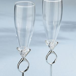 Crystal Diamond-Shaped Tea Light Holder (set of 4)-Glass & Crystal Favors-My Asian Wedding Favors