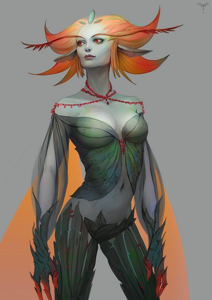 Bright Fairy, Sandra Duchiewicz on ArtStation at https://www.artstation.com/artwork/bright-fairy