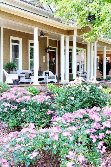 Top This Top That: My Summer 'Southern' Front Porch