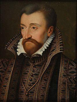 Антуан де Бурбон (фр. Antoine de Bourbon, duc de Vendôme;22.04.1518-17.11.1562) герцог де Вандом,глава дома Бурбонов (1537-1562),король Наварры (1555-1562), отец первого франц.короля из дома Бурбонов Генриха IV Наваррского,стар. брат герцога Энгиенского и Луи де Бурбона,принца Конде.Антуан слыл ветреным и ненадёжным человеком.Он часто разочаровывал своих последователей,заигрывая со своими противниками.