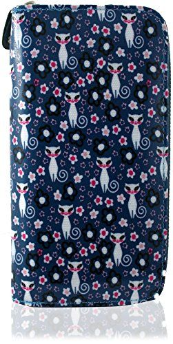 KukuBird Cute Animate FAT Cats Pattern Large Ladies Purse Clutch Wallet (FEMALE CAT BLUE) Kukubird http://www.amazon.co.uk/dp/B00YCV7ZJW/ref=cm_sw_r_pi_dp_IVYxwb13TWS9S