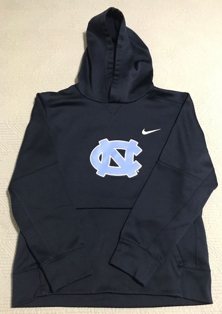 861aa60b1a00 NIKE DRI-FIT UNC North Carolina TARHEELS Pullover Hoodie Sweatshirt Youth L
