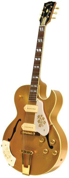 1999 ES-295 presented by Gibson to Scotty Moore Lardys Chordophone of the day 2017 --- https://www.pinterest.com/lardyfatboy/