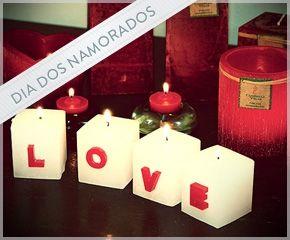 IDEIA COM #VELAS PARA O DIA DOS NAMORADOS
