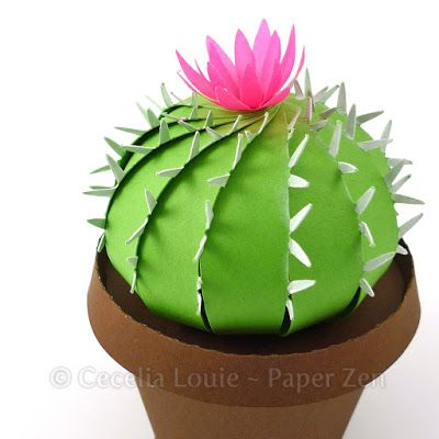 Paper Zen Paper Crafts Pinterest Paper Paper Cactus And Paper
