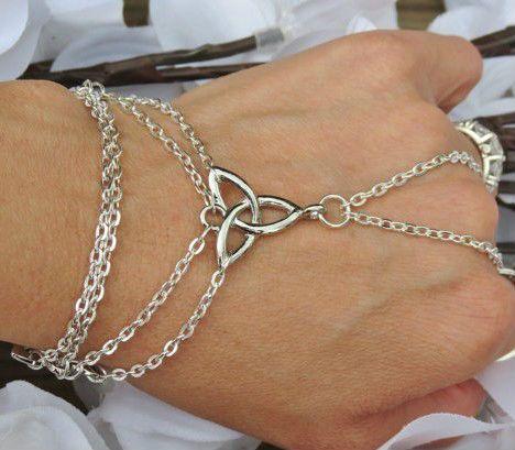 Celta de la mano de la cadena, pulsera esclava, anillo pulsera, irlandeses orgullo, el celtic, nudo, el infinito, de la trinidad, sp de la cadena, de la mano de la joyería-Joyería Plata-Identificación del producto:1418912193-spanish.alibaba.com