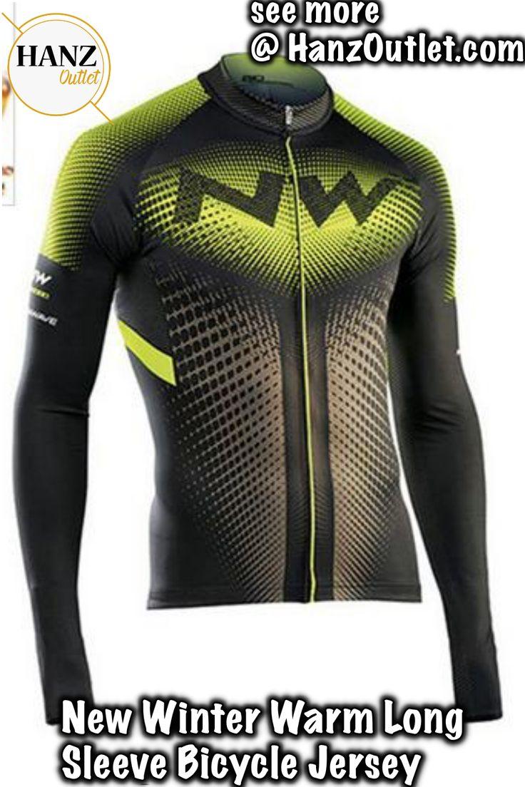 <b>2018 NW</b> New Winter Warm Long Sleeve <b>Bicycle</b> Jersey Thermal ...