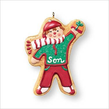 124 best Gingerbread Cookie Ornaments images on Pinterest