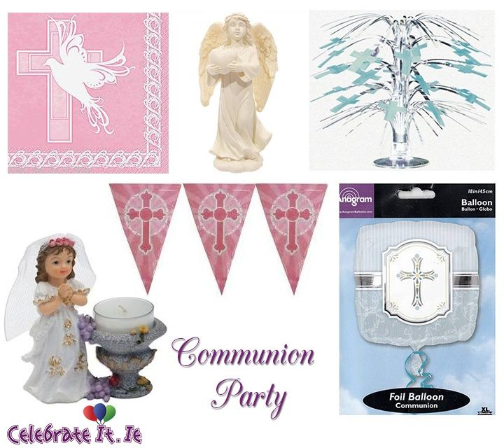 Make Your First #Communion Party A Joyous Affair