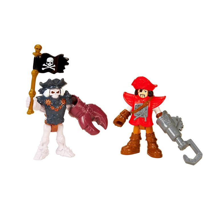 A diversão está garantida com a Imaginext - Esqueletos Marinheiros - Fisher Price.  Atenção, marujos! Este Pirata e este esqueleto estão prontos para muita aventura mares adentro! As crianças vão adorar fazer parte dessa tripulação ou lutar contra os perigos do mar... Elas decidem qual será a brincadeira! Brinque junto com o Navio Pirata Imaginext para mais aventura!