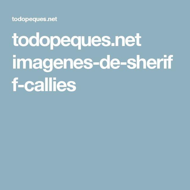 todopeques.net imagenes-de-sheriff-callies