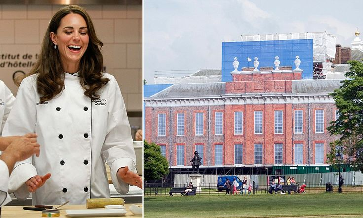 William and Kate also wanted a 'private, family kitchen' in the four-storey, 20-plus room home. The cost of reconfiguring the room from existing office space has also fallen to the public purse, but officials stressed last night that the second kitchen itself, as well as all fixtures and fittings, were paid for by the couple.